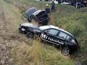 Die gestohlenen BMW im Graben - Fahrer sind verschwunden, © Foto: Freiwillige Feuerwehr Loosdorf