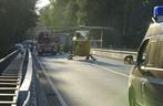 Rettungshubschrauber - Isar bei Ismaning, © Auch ein Rettungshubschrauber war im Einsatz - Foto: Berufsfeuerwehr München