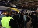 © Bundespolizisten nehmen neue Flüchtlinge am Hauptbahnhof in Empfang