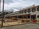Aufbau Oktoberfest 2015 - So siehts auf der Wiesn aus Marstall Festzelt