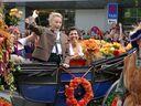 Oktoberfest 2015: Einzug der Wiesn-Wirte, © Rico Güttich / München TV