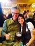 van hooven oktoberfest wiesn, © München TV Chefredakteur Jörg van Hoffen mit Tochter Chelsea
