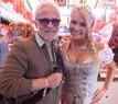 © Oktoberfest 2015: Nino de Angelo und Denise Cotte auf der Wiesn