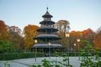 © Der Chinesische Turm im Englischen Garten -  Foto:  Dirk Schiff/Portraitiert.de