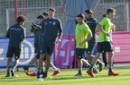 Die deutsche Fußball-Nationalmannschaft trainiert in München