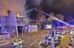 Feuer Brand Einfamilienhaus, © Foto: Berufsfeuerwehr München