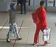 © Tatverdächtiger Ex-Ehemann in rot mit dem Mordopfer