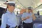 Zwei Bundespolizeibeamte in Zug, © Symbolbild