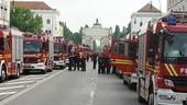 Weltrekord: München feiert längste Feuerwehr-Parade der Welt - Paradefoto