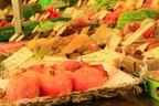 Gesunde Lebensmittel, Obst und Gemüse am Münchner Viktualienmarkt