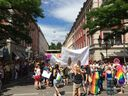 Politparade Christopher Street DAY (CSD) München 2016 - Menschenmenge