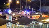 Krankenwägen nach Schießerei in München