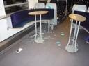 Das verwüstete Bordbistro., © Foto: Bundespolizei