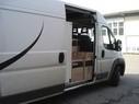 Der Kastenwagen, indem 65kg Marihuana transportiert wurden., © Foto: Zoll München