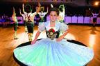 tanzendes Mädchen auf Oide Wiesn Bürgerball, © Ingrid Grossmann