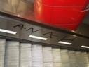 Graffiti an einer Rolltreppe, © Foto: Bundespolizei