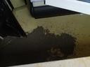 Betonunfall - 40 Kilo Beton in Schlafzimmer vergossen , © Foto: Polizeiinspektion Germering