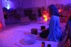 © Klangschalen-Meditation in der Salzgrotte