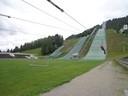 © Flying Fox an der Olympia-Skisprungschanze