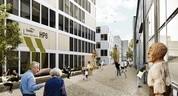 Der neue Gateig am Heizkraftwerk Süd in Untersendling, © Clemens Bachmann Architekten