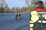 Feuerwehr_Rettung_Kleinhesseloher See, © Foto: Berufsfeuerwehr München
