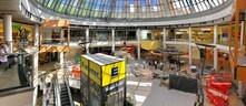 Bilder von der Baustelle: Arbeiten am Erweiterungsbau im PEP Neuperlach und am neuen Primark